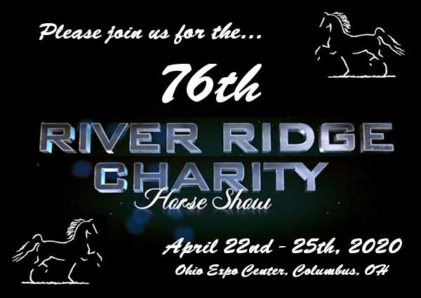 2020 Ohio State Fair Equine Show.River Ridge Horse Show